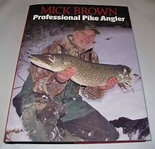Signed book by Mick Brown - Professional Pike Angler + Unhooking pliers!