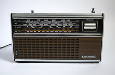 Vintage Transistor Radio by Grundig Elite Boy 700 working Retro 1970s