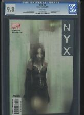 Marvel NYX 3 X-23 1st Appearance CGC 9.8 White Pages Wolverine