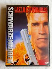 THE LAST ACTION HERO DVD MOVIE Arnold Schwarzenegger Action Hero Columbia