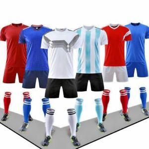 14 Soccer Jersey Uniform Set T-Shirt+shorts+socks Football Soccer Kit $25/set