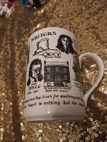 Rosalind Walshe Collection Irish Writers Fine Bone China Gold Trim Coffee Mug