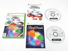 XBOX 360 BURNOUT PARADISE THE ULTIMATE BOX e Trivial Pursuit Bambini Gioco Bundle