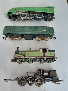 HORNBY DUBLO A4 / TRIANG OO LOCO / MANTUA CHASSIS ETC LOT FOR SPARES / REPAIR