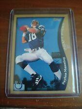 Peyton Manning Rookie Card 2010 Insert Mint