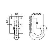 Anschraubplatte, Anhängevorrichtung NEU WESTFALIA (329042600001)