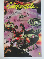 Elementals (Comico 1985) #3 Signed by Jay Jay Jackson and Bill Willingham