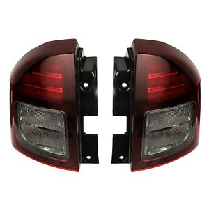 2014-2017 JEEP COMPASS TAILLIGHT LAMP RIGHT & LEFT MOPAR 5272908AB 5272909AB
