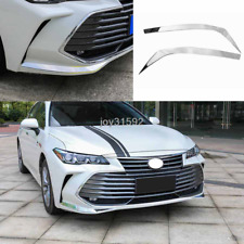 Stainless steel Front Bumper Front Corner Cover Trim For Toyota Avalon 2019