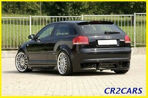 AUDI A3 8P 3 door s-line REAR/ROOF SPOILER (2004-2010)