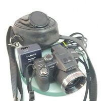 Panasonic LUMIX DMC-FZ38 12.1MP Digital Camera - Black +CHARGER+CASE TESTED#964