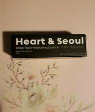 The Beauty Spy Heart Seoul Black Rose Lipstick .10 oz New !