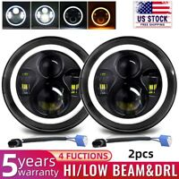 7 Inch Round Led Headlight for Jeep Wrangler CJ Jk TJ Motorcycle Offroad Vehicle