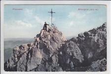 AK Berchtesgaden, Watzmann Mittelspitze, Bergsteiger 1911