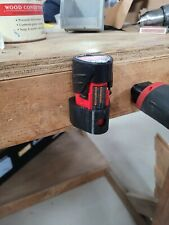 Five (5) Pack Milwaukee M12 Battery Holder / Stand / Hanger FREE SHIPPING m 12