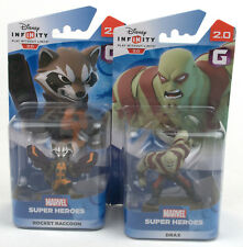 Disney Infinity Marvel's Guardians Playset Figures - Drax & Rocket Raccoon BNIB