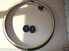 Pair 27 x 1 1/4 Raleigh Amber Wall Tyres & Tubes Road Traditional Bike RRP£41.96