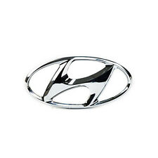 Genuine Hyundai Santa Fe Oval Hyundai Badge Emblem - 8635326100