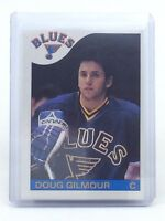 1985-86 Doug Gilmour #76 ST Louis Blues OPC O-Pee-Chee Ice Hockey Card H548