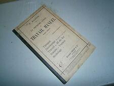 livre scolaire travail manuel fil de fer noeuds tressses   par P Martin an 1894