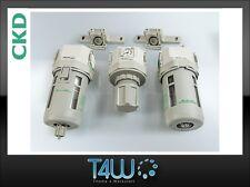CKD F,R,M,Bx2 4000 Filter set air water separator pressure reducer Grip