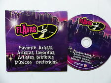 CD 3 titres FLAVAS Favorite artists B2K  BOW WOW  JHENE            A 71826