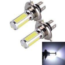 2 PCS H4 20W 1250LM 6000K 5 COB LEDs Car Fog Lights, DC 12V (White Light)