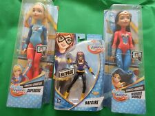"DC Super Hero Girls Figure Batgirl Wonder Woman Supergirl 12"" 6"" Figures"