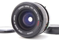 Near MINT Canon FD 24mm F/2.8 S.S.C. SSC Wide Angle Lens for FD From Japan