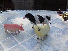 ELC / Early Learning Centre - Holstein Cow, Female Pig & Sheep