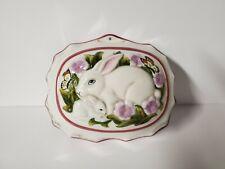 Le Cordon Bleu Franklin Mint Rabbit Bunny Decorative Jello Mold