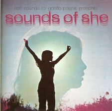 Sounds Of She CD Psych, Soft Sounds London Phogg, Aquarians, Carolyn Hester
