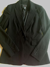 ladies NEW YORK & COMPANY BLACK SUIT JACKET blazer LONG ny&co NICE! SIZE 4 small