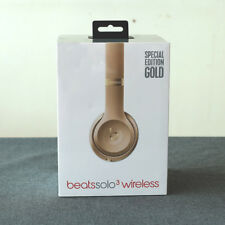 Gold Color Special Edition Solo3 Bluetooth/Wired Earphone Headphones For iPhones