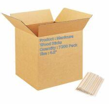 "Manicure Sticks 4.5"". Case of 7200 Cuticle Pushers for manicure and pedicure."