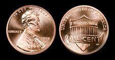 2019 W Uncirculated Lincoln Cent -From 2019 Uncirculated Coin Set -BEAUTIFUL GEM