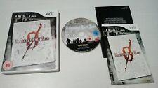 Resident evil archives zero Nintendo Wii pal Uk completo cd impoluto