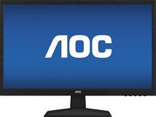 "AOC E2429SWHE 24"" Widescreen Full HD 1080p VGA HDMI Desktop Monitor"