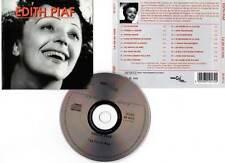 """EDITH PIAF """"La Vie En Rose"""" (CD) 2000"""