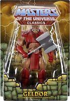 GELDOR Masters of the Universe Classics MOTUC MOTU HE-MAN MOC OVP NEU