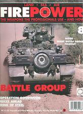 FIREPOWER 8 BRITISH BATTLE GROUP FIGHTING VEHICLES / WW2 NORMANDY OPERATION GOOD