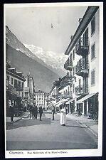 France~ 1900's CHAMONIX ~ Rue National ~ HOTEL EUROPE PENSION