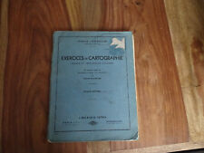 ANCIEN LIVRE SCOLAIRE EXERCICE CARTOGRAPHIE FRANCE COLONIES CM ISTRA