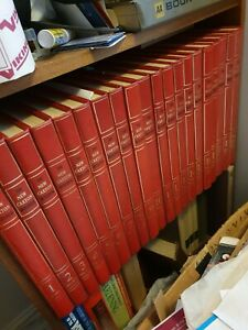 Caxton press encyclopedia set of quality and with original bookcase