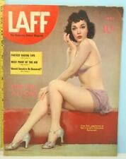LAFF July 1941 Humorous Picture Magazine Strip Girl at Home EX