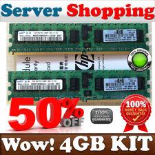 44 Go (2X2GB) PC2 6400P ECC Registered 240p 501157-001 HP 499276-061 Single Rank