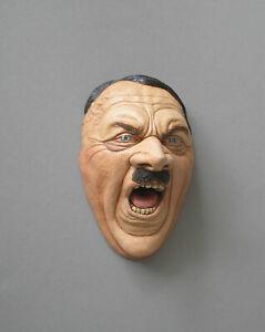 Reichskanzler Mensch Politiker Büste Kopf Skulptur Gips Kunsthandwerk