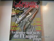 **a Gazette des armes n°366 Fusil d'infanterie modèle 1840 / Greener MkIII