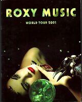ROXY MUSIC 2001 WORLD TOUR CONCERT PROGRAM BOOK BOOKLET / BRYAN FERRY / EX 2 NMT