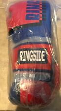 Ringside Omega Sparring Gloves Pair Blue & Black NEW 16 oz